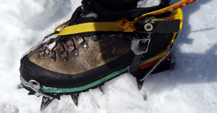 check the best ice climbing crampons